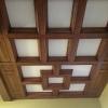 потолок из дуба
